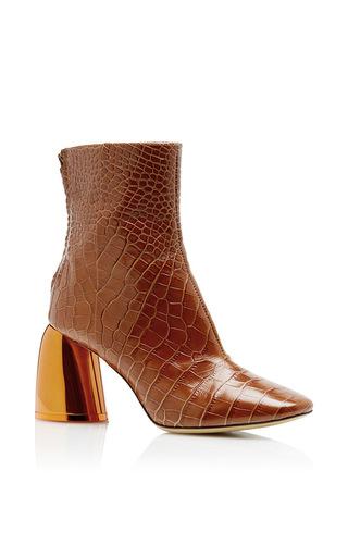 Medium ellery orange jezebels ankle boot 2