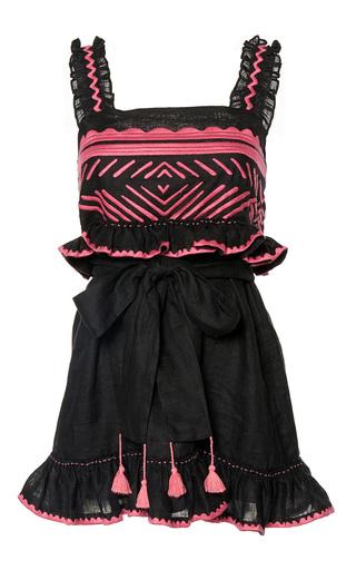 Medium march11 black namibia sleeveless mini dress