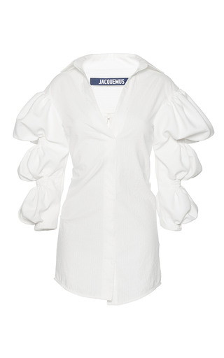 Medium jacquemus white structured mini dress