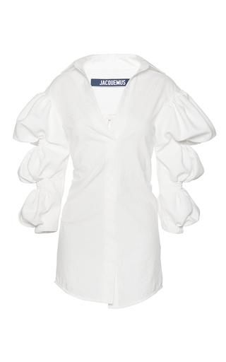 Medium jacquemus white structured mini dress
