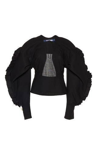 Medium jacquemus black spanish structured top