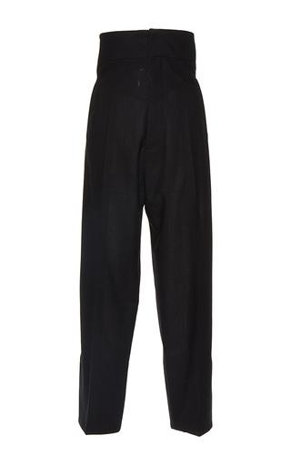 Medium jacquemus black high waisted black button back trousers