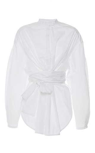 Medium ellery white veronica oversized shirt