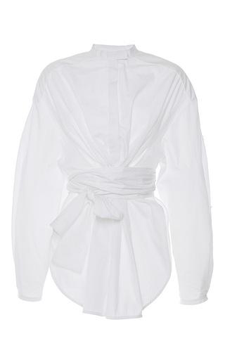 Medium ellery white veronica oversized shirt