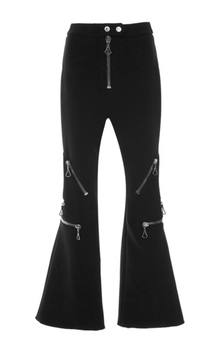 Medium ellery black meiko cropped pants