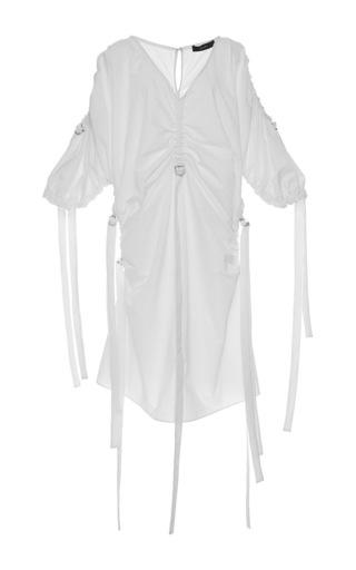Medium ellery white kabukimono rouched dress