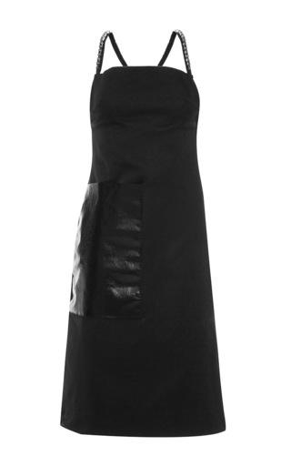 Medium ellery black clueless chain tunic dress