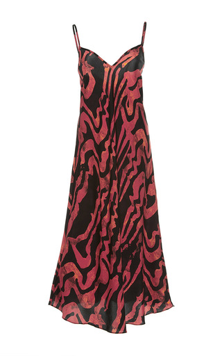 Medium ellery print runaway daughter slip dress