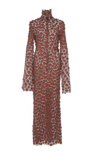 Medium ellery brown austerity floral maxi dress