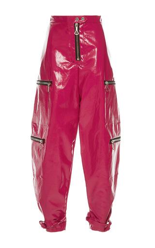 Medium ellery pink kill kill zipper pants