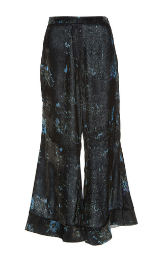 Medium ellery print she devil flared pants