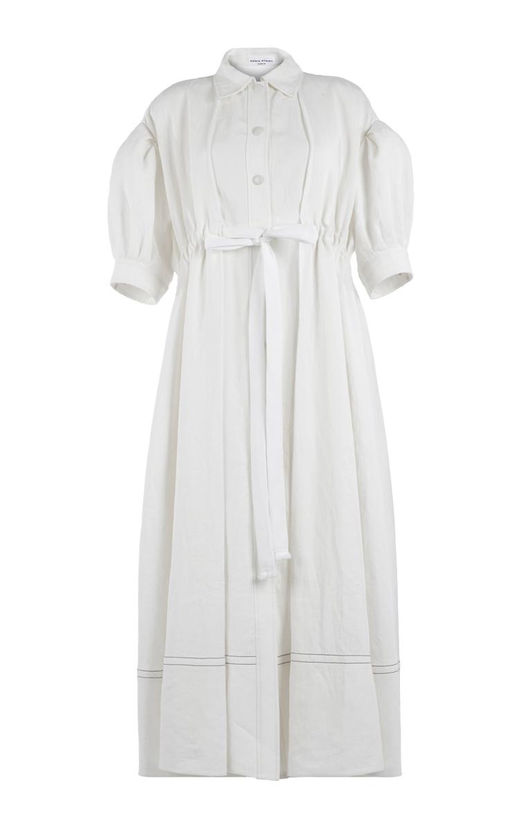 Women · Sonia Rykiel; Washed Linen Midi Shirt Dress. THIS TRUNKSHOW HAS  ENDED. CLOSE. Loading