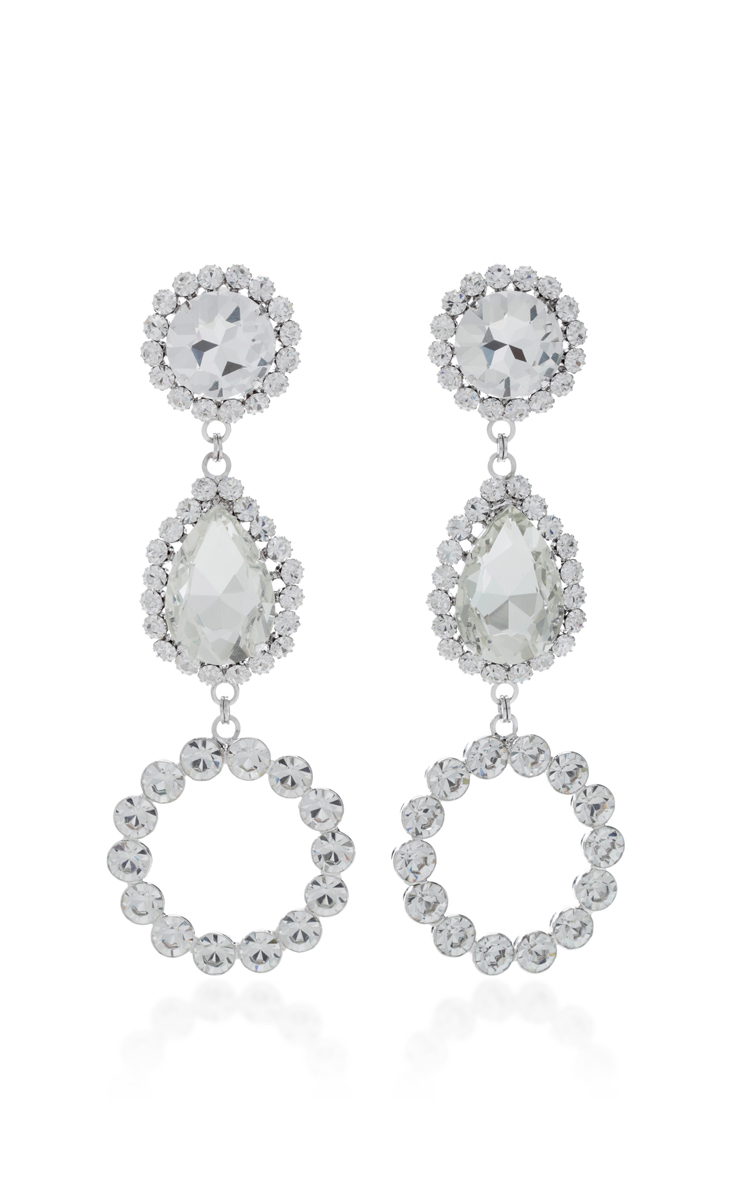 three crystal operandi moda hoop drop white by alessandra loading large earrings rich