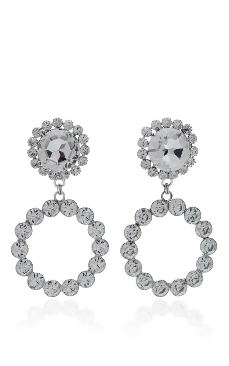 Dobles Pendientes De Cristal De Diamante Alessandra Rica dOwHOsjp