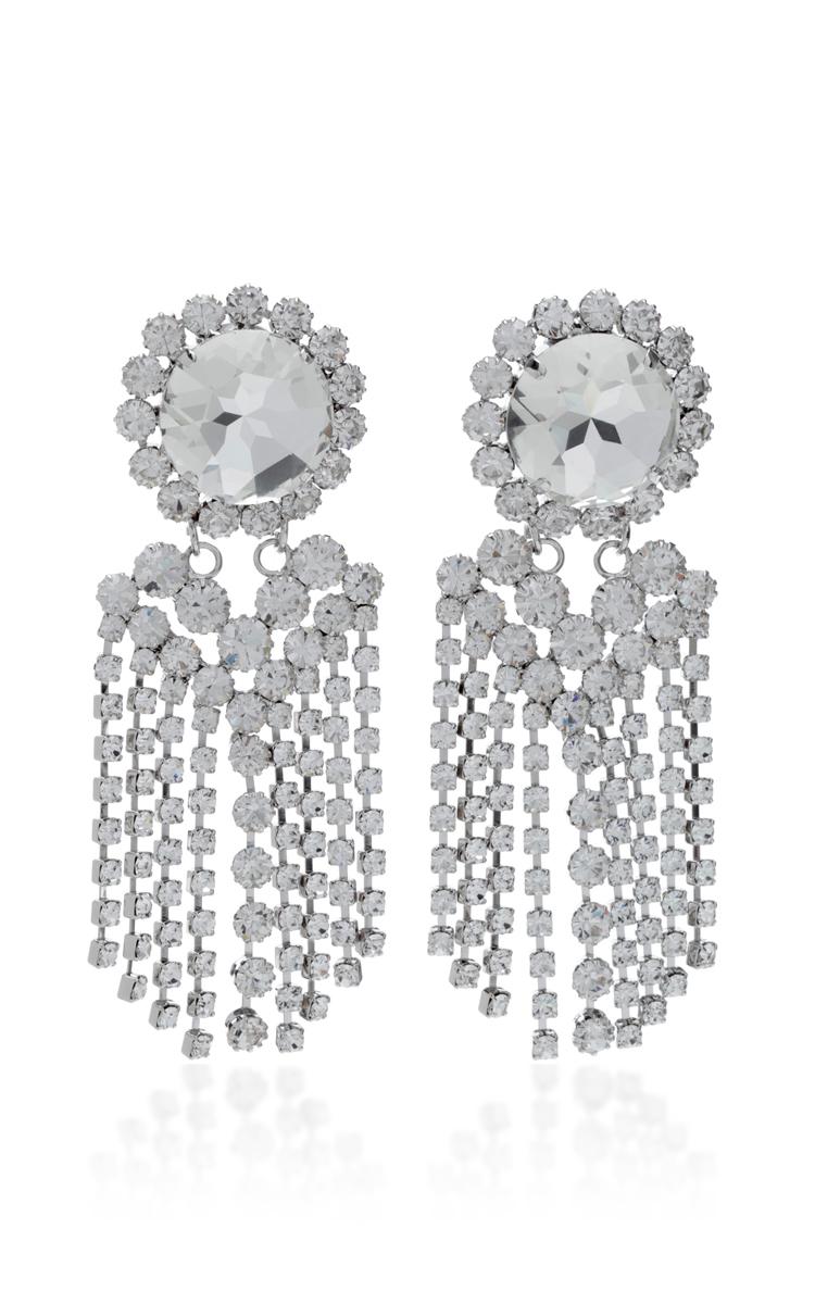 Alessandra Rich Crystal-embellished earrings 2jwZHoza43