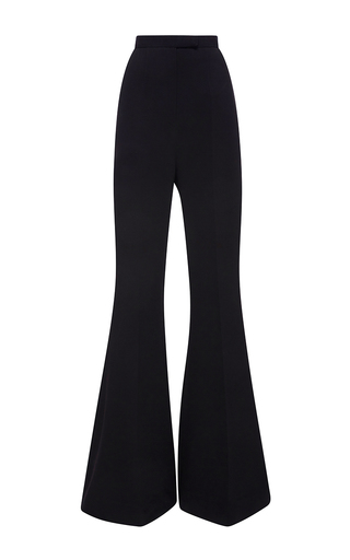 Medium elie saab black flared pants with very wide bottom legs