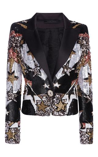 Medium elie saab multi stars embroidered smocking jacket