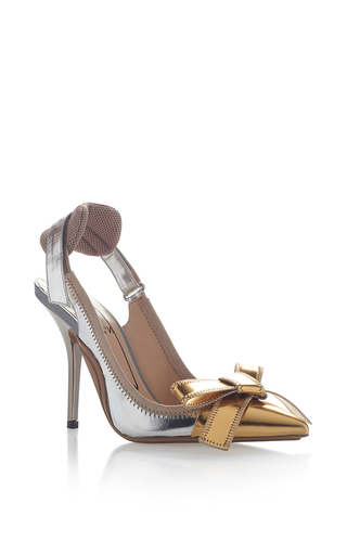 Medium no 21 metallic metallic bow pump