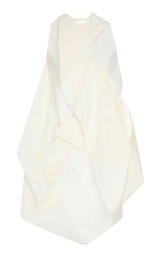 Medium rick owens off white draped crepe top