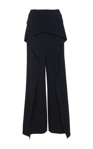 Medium roland mouret black caldwell stretch double crepe trouser