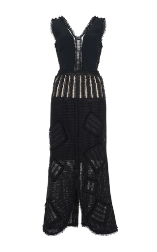 Medium roland mouret black garson stretch double crepe dress