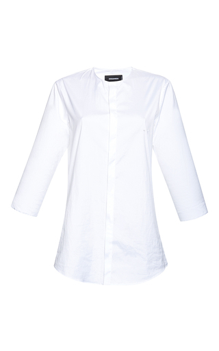 Medium dsquared2 white long sleeve seasonal shirt