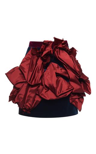 Medium dsquared2 multi silk faille mini skirt