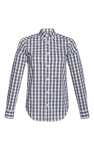 Medium dsquared2 plaid check long sleeve shirt