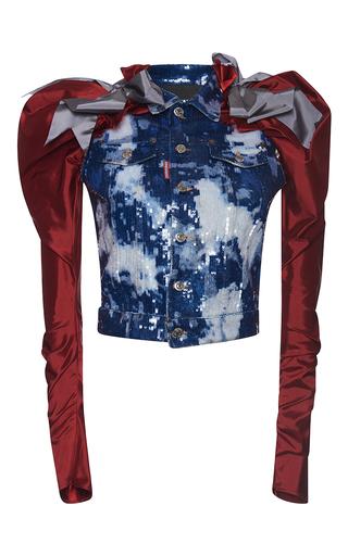Medium dsquared2 blue denim sports jacket