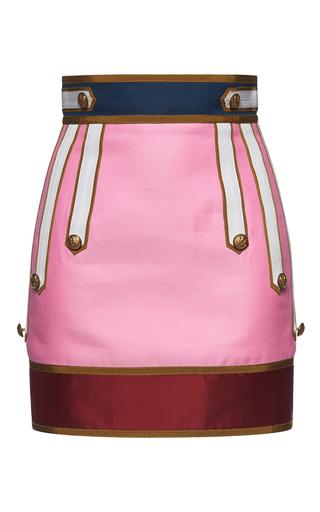Medium dsquared2 pink marching mini skirt