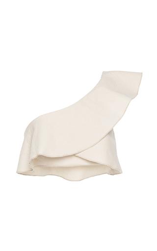 Medium isabel marant off white hayo one shoulder ruffle top