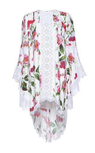 Medium andrew gn pink flutter sleeve floral dress 2