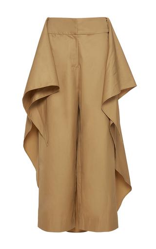 Medium johanna ortiz brown amazonian skirt overlay pants