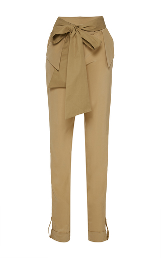 Medium johanna ortiz tan lorica slim pants