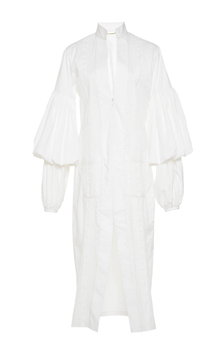 Medium johanna ortiz white palomino puff sleeve shirtdress