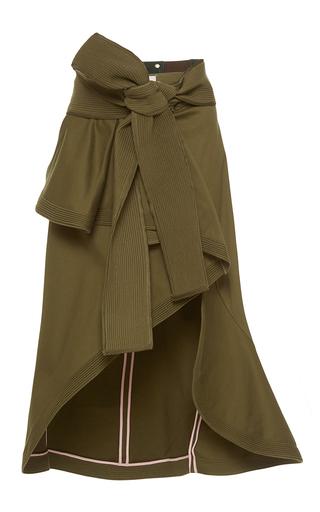 Medium johanna ortiz green cienaga belted wrap skirt