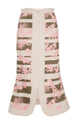 Medium johanna ortiz print canaima flared pencil skirt
