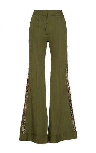 Medium johanna ortiz green embera flared pants