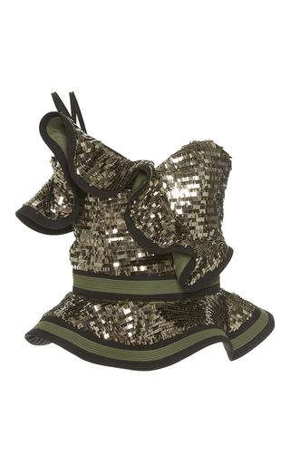 Medium johanna ortiz metallic mulato sequin embellished top