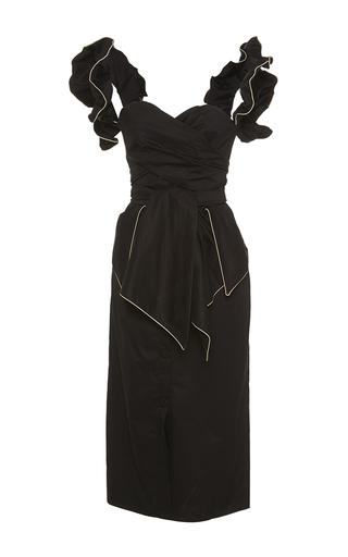 Medium johanna ortiz black flamingo sweetheart dress