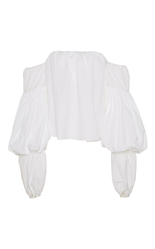 Medium johanna ortiz white manaure off the shoulder top