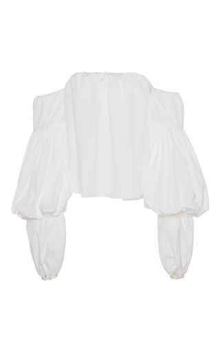 Medium johanna ortiz white manaure off the shoulder top