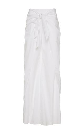 Medium johanna ortiz white sumapaz skirt overlay pants