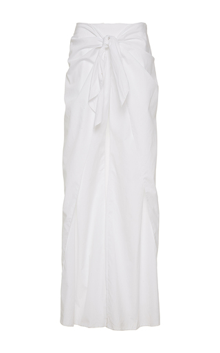 Medium johanna ortiz white sumapaz skirt overlay pants