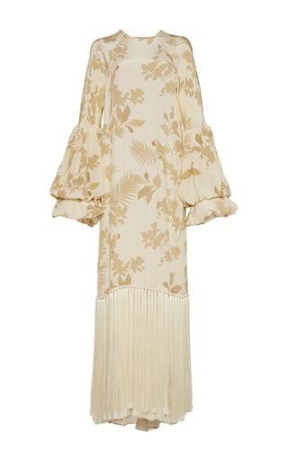 Medium johanna ortiz print recife tassel tunic dress