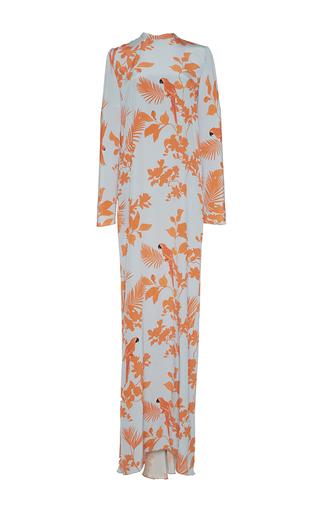 Medium johanna ortiz print quetzal long sleeve tunic dress