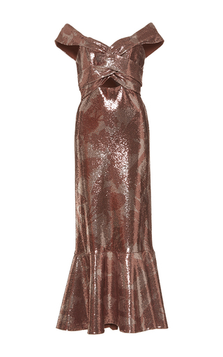 Medium johanna ortiz pink maicao sequin embellished dress