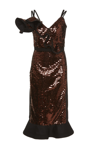 Medium johanna ortiz metallic san jacinto sequin embellished dress