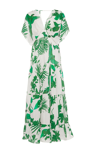 Medium johanna ortiz print m o exclusive puerto inirida embellished dress