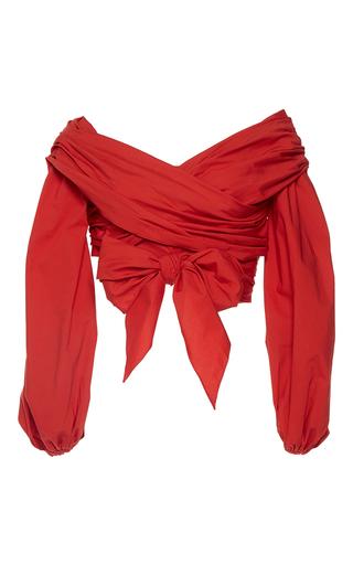 Medium johanna ortiz red m o exclusive guadalupe top